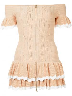 Платье I Am Yours Alice Mccall. Цвет: телесный