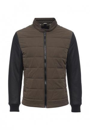 Куртка утепленная Antony Morato. Цвет: хаки