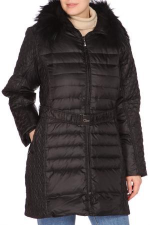 Пальто пуховое Clips. Цвет: черный