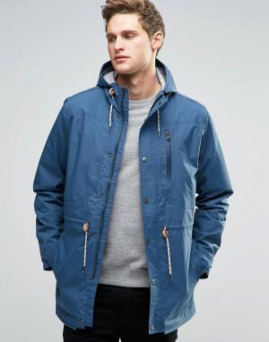 Parka London Куртка Aren. Цвет: синий