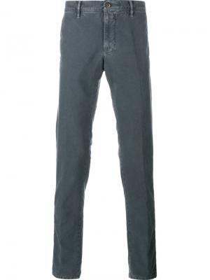Джинсовые брюки Incotex. Цвет: серый