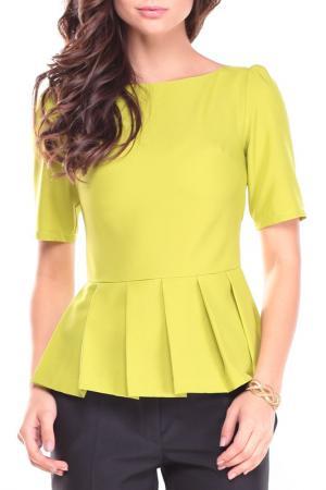Блуза REBECCA TATTI. Цвет: фисташковый