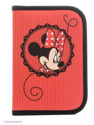 Пенал с наполнением Minnie Mouse Scooli. Цвет: красный