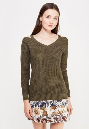 Пуловер Jennyfer. Цвет: хаки
