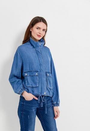 Куртка джинсовая s.Oliver. Цвет: голубой