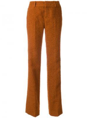 Строгие брюки Marni. Цвет: жёлтый и оранжевый