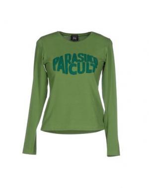 Футболка PARASUCO CULT. Цвет: зеленый
