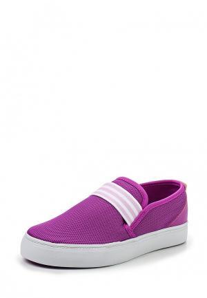 Слипоны adidas Neo. Цвет: фиолетовый