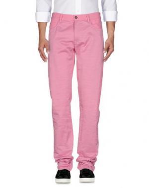 Джинсовые брюки YANG LI. Цвет: розовый