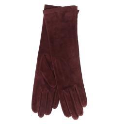 Перчатки  CELIA/SUED/S бордовый AGNELLE