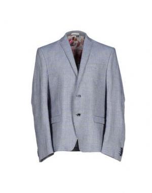 Пиджак DAVID NAMAN. Цвет: синий