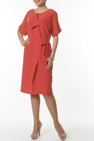 Платье Argent. Цвет: коралловый