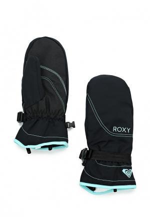 Варежки горнолыжные Roxy. Цвет: черный
