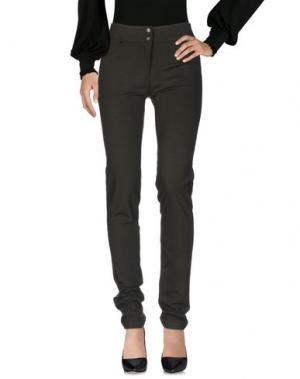 Повседневные брюки SALLY NEW YORK. Цвет: зеленый-милитари