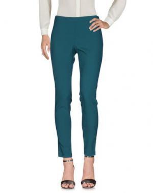 Повседневные брюки MARIA GRAZIA SEVERI. Цвет: зеленый