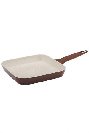 Сковорода-гриль, 26 см Granchio. Цвет: белый