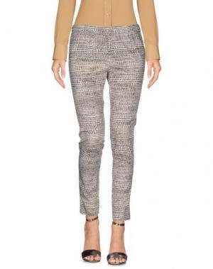 Повседневные брюки NEW YORK INDUSTRIE. Цвет: слоновая кость