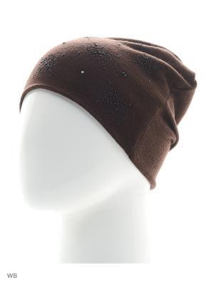 Шапка SHERONA. Цвет: темно-коричневый