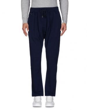 Повседневные брюки PUBLISH. Цвет: темно-синий