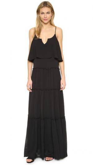 Макси-платье Nete Ella Moss. Цвет: голубой