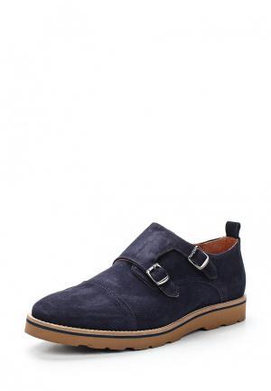Туфли Trussardi Jeans. Цвет: синий