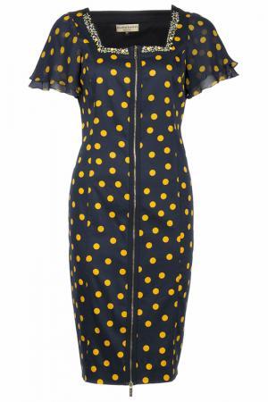 Платье Elisa Fanti. Цвет: темно-синий