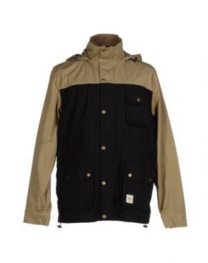 Куртка WEMOTO. Цвет: черный