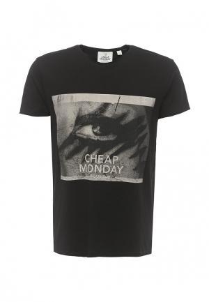 Футболка Cheap Monday. Цвет: черный