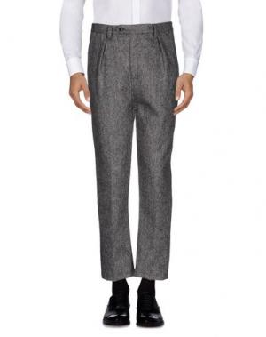 Повседневные брюки CAMO. Цвет: свинцово-серый