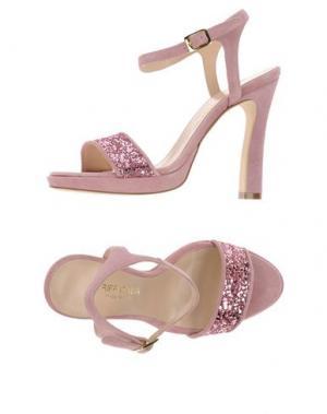 Сандалии GRIFF ITALIA. Цвет: розовый