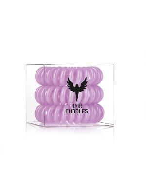 Резинка для волос Hair Cuddles HH Simonsen сиреневая (3 шт.). Цвет: фиолетовый