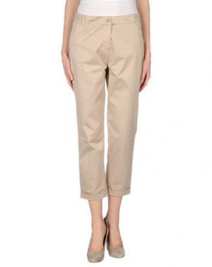 Повседневные брюки DELLA CIANA. Цвет: бежевый