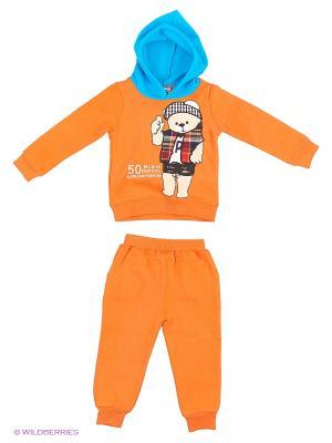 Комплект Sago Kids i Ant Domain. Цвет: голубой, оранжевый