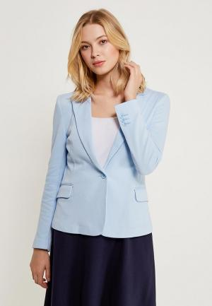 Пиджак Vero Moda. Цвет: голубой