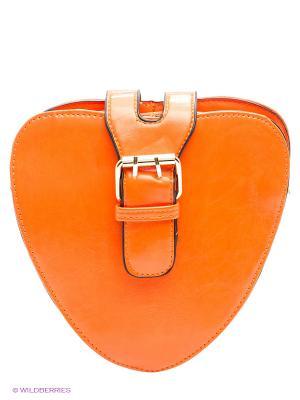 Сумка Nota Bene. Цвет: оранжевый