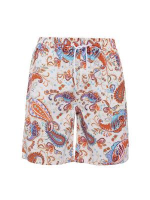 Плавательные шорты Гоа Nothing but Love. Цвет: бежевый, оранжевый, синий