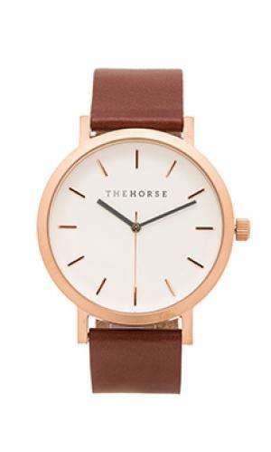 Часы original The Horse. Цвет: коричневый