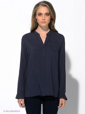Блузка MAVI. Цвет: синий