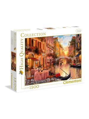 Clementoni. Пазл Венеция. Серия High Quality. 1500 элементов. Clementoni. Цвет: белый, желтый, оранжевый