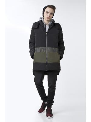 Куртка Sabotage. Цвет: черный
