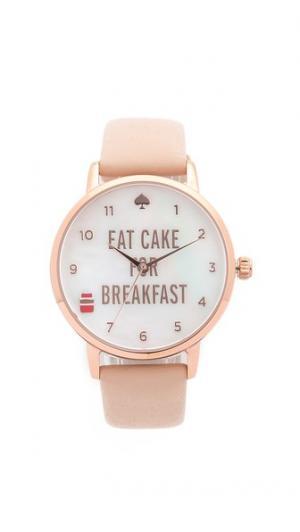Часы Metro Eat Cake for Breakfest Kate Spade New York