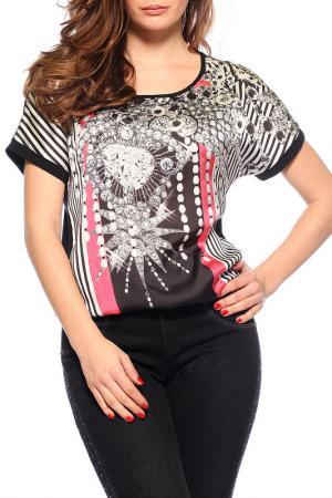 Блуза GUITAR. Цвет: черный