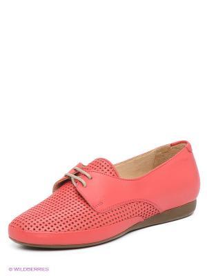 Ботинки Goergo. Цвет: коралловый