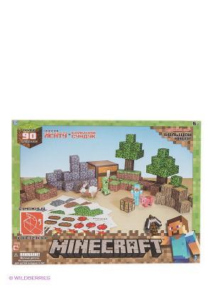 Игровой мир Большой набор Minecraft. Цвет: зеленый
