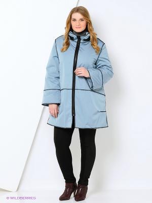 Куртка Gamelia. Цвет: голубой