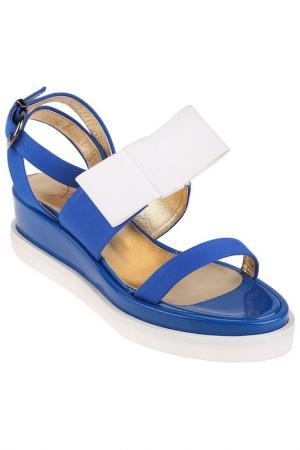Туфли летние Walter Steiger. Цвет: blue