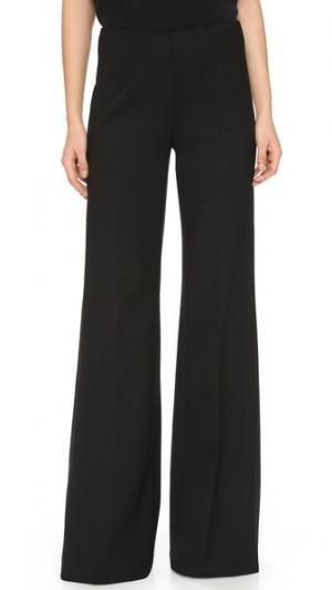 Широкие брюки KAUFMANFRANCO. Цвет: блестящий черный