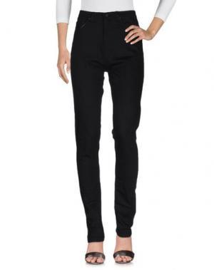 Джинсовые брюки BOLONGARO TREVOR. Цвет: черный