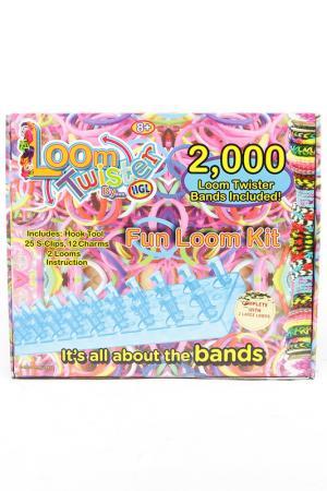 Наборы для плетения браслетов LOOM TWISTER. Цвет: мультиколор