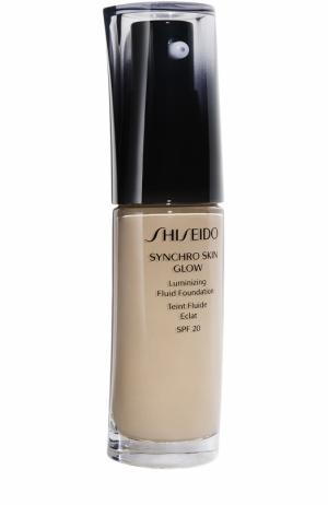 Тональное средство-флюид Synchro Skin, Rose 3 Shiseido. Цвет: бесцветный